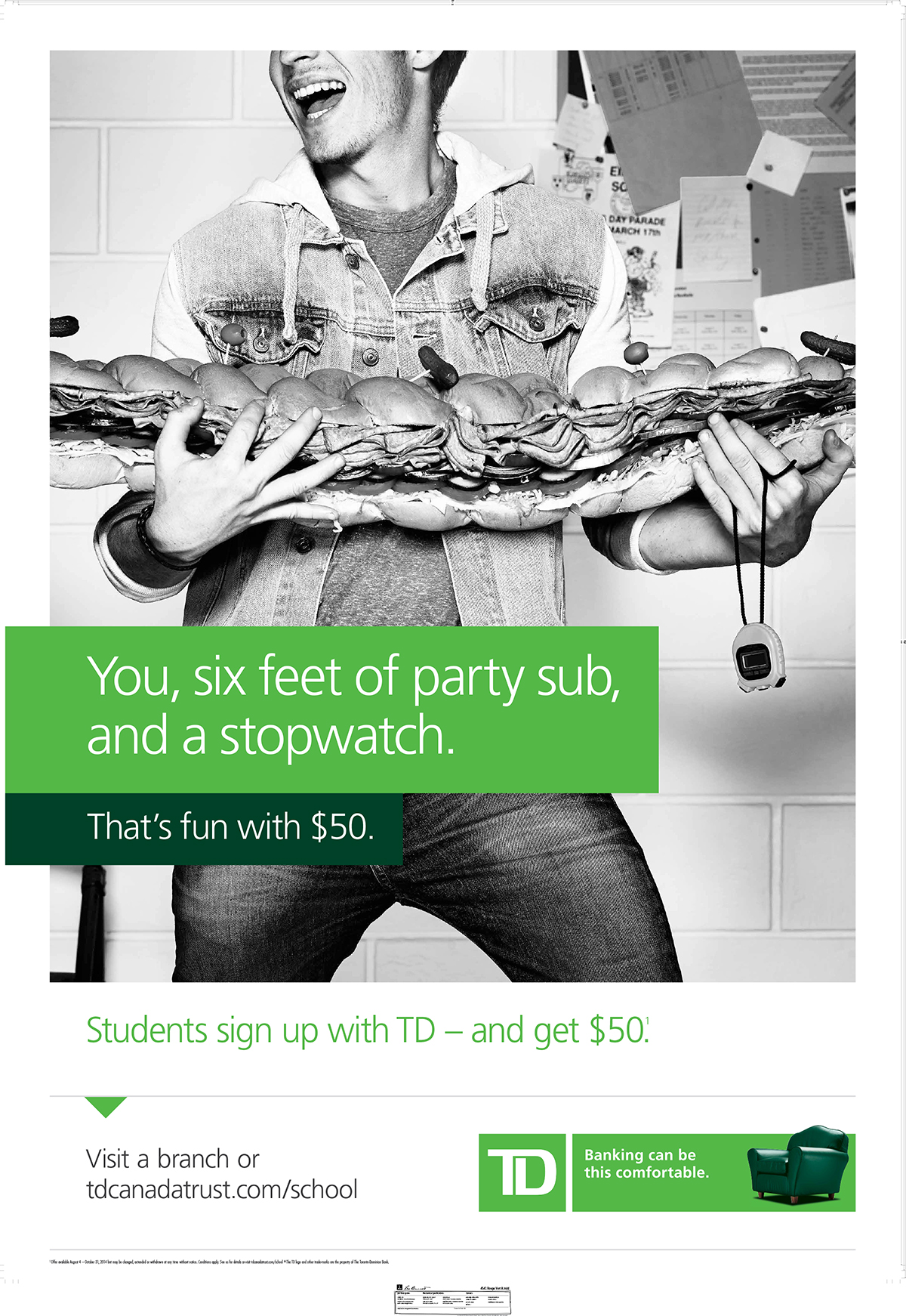 TD Bank Back to School I