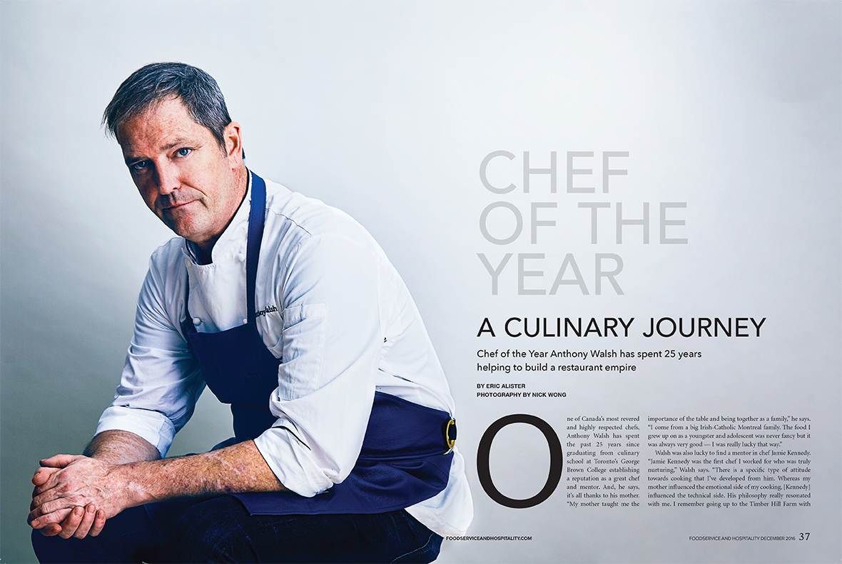Anthony Welsh - Foodservice and Hospitality Magazine