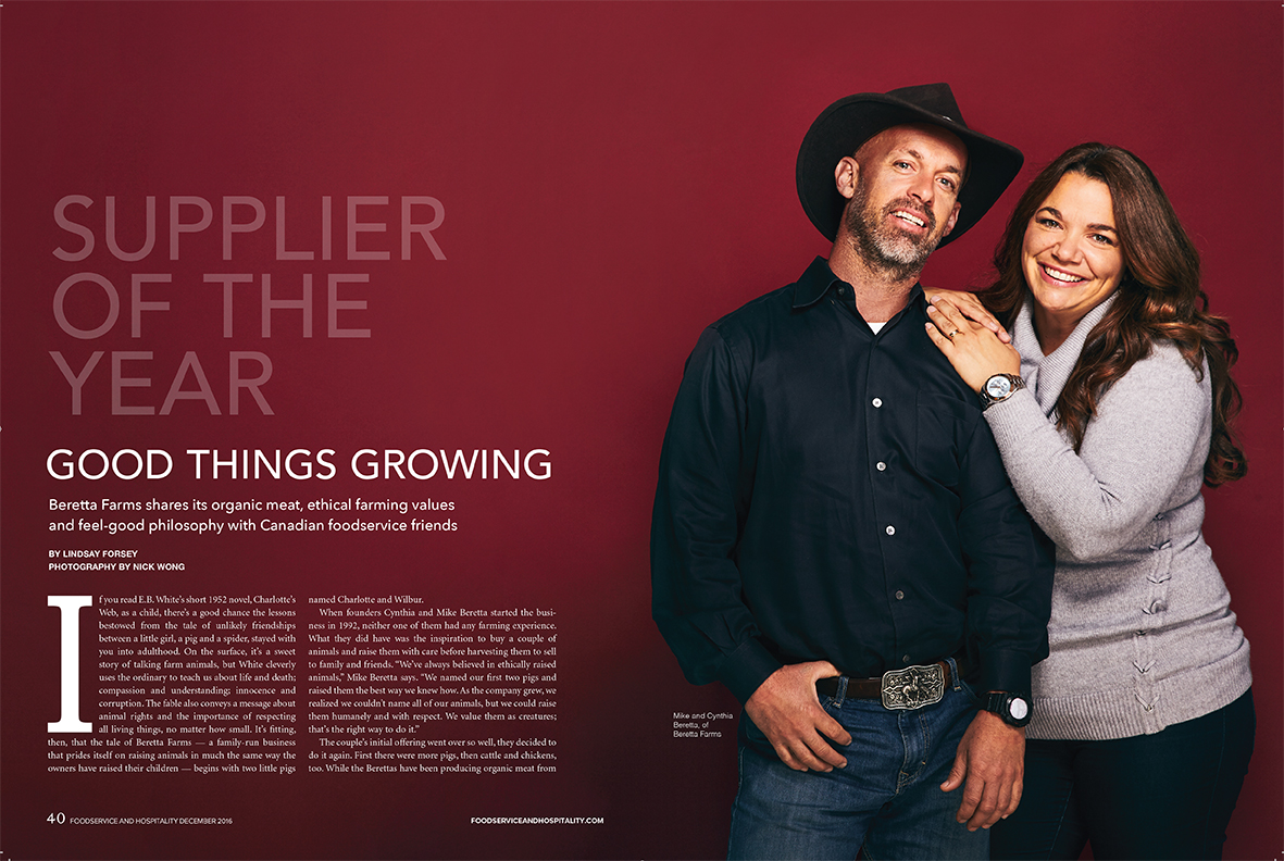 Beretta Farms - Foodservice and Hospitality Magazine