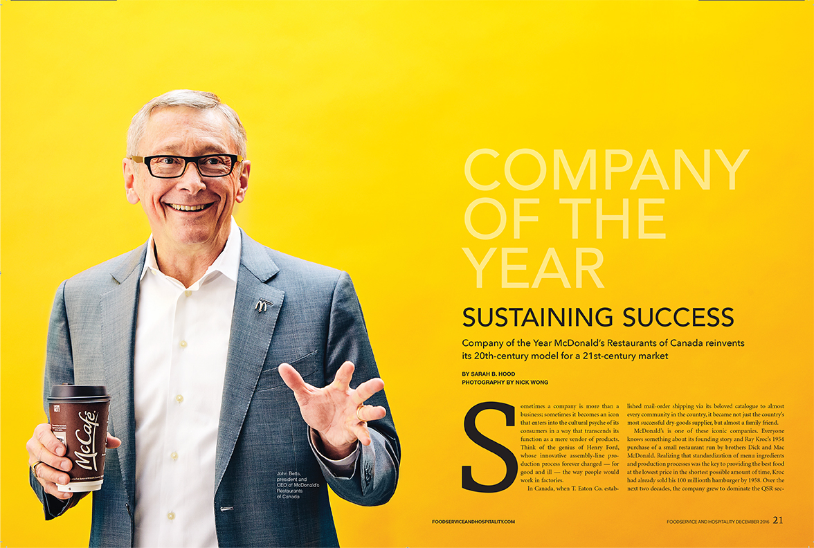 John Betts, McDonalds - Foodservice and Hospitality Magazine