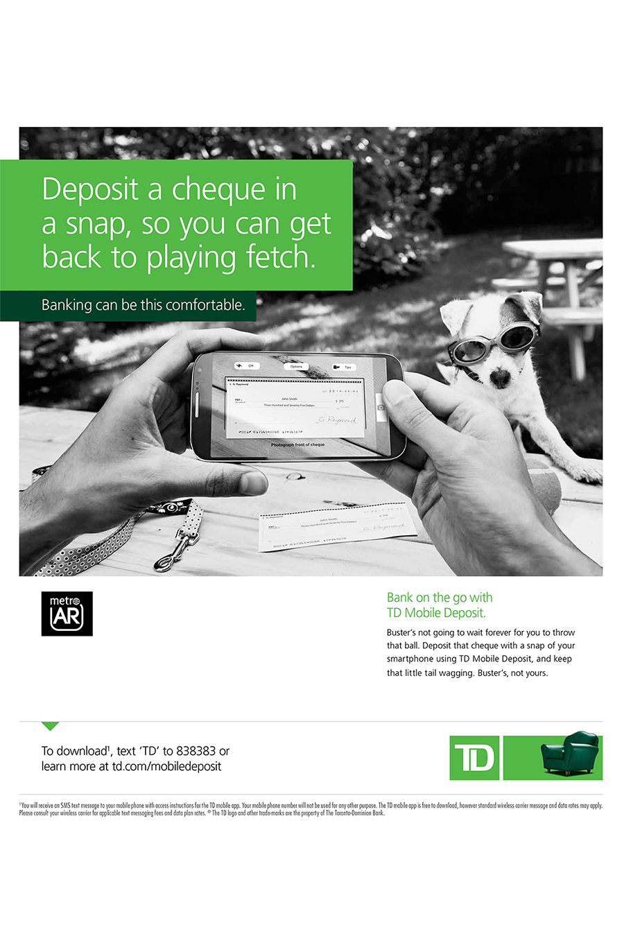 TD Direct Deposit 2 | Nick Wong Photography | Editorial